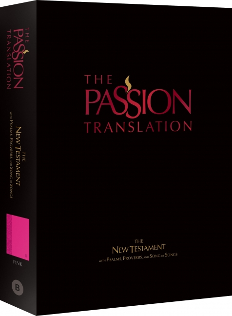 The Passion Translation New Testament (Pink)